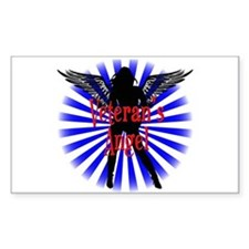 Veteran's Angel Decal