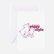 Year of The Pig 2007 Greeting Cards (Pk of 10)