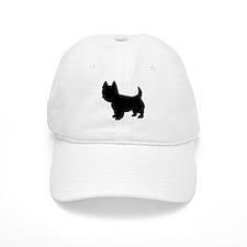 Westie dog Baseball Cap