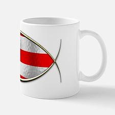 Ichthus - Puerto Rican Flag Mug