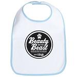Beauty and the Beast Since 1740 Bib
