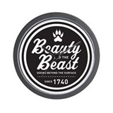 Beauty and the beast Wall Clocks