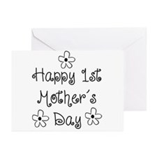 1st Mother's Day Greeting Cards (Pk of 10)