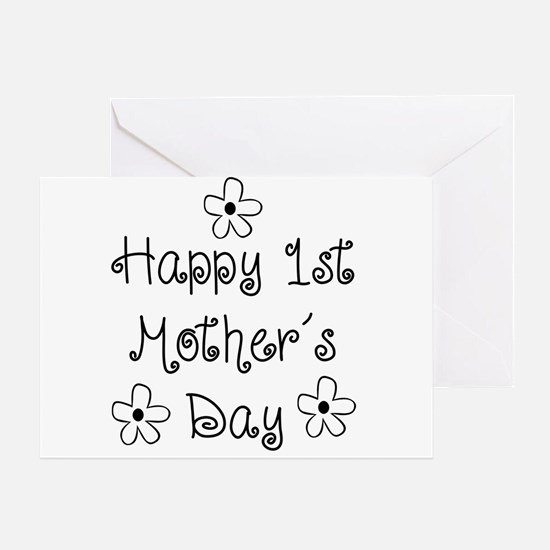 1st Mother's Day Greeting Card