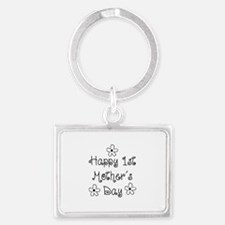 1st Mother's Day Landscape Keychain