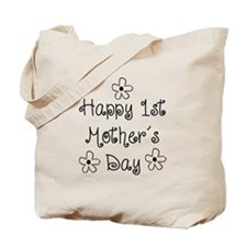 1st Mother's Day Tote Bag