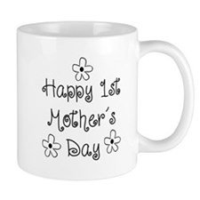 1st Mother's Day Small Mug