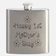 1st Mother's Day Flask