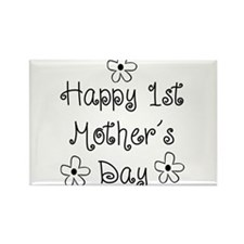 1st Mother's Day Rectangle Magnet