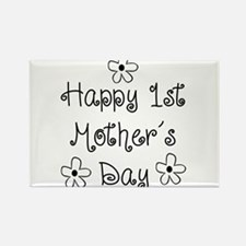 1st Mother's Day Rectangle Magnet (10 pack)