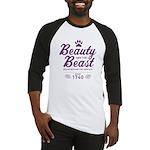 Beauty and the Beast Since 1740 Baseball Jersey