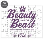 Beauty and the Beast Since 1740 Puzzle