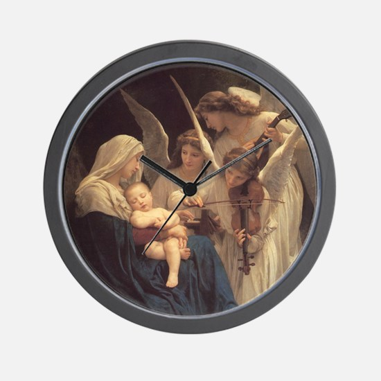 Song of the Angels Nativity Wall Clock