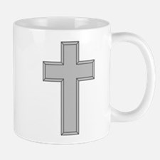 Silver Cross Mug