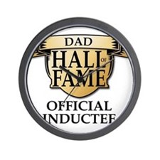 Dad Hall of Fame Wall Clock