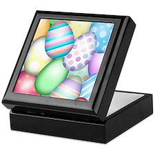 Decorated Eggs Keepsake Box