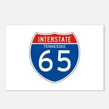 Interstate 65 - TN Postcards (Package of 8)