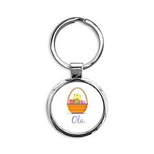 Easter Basket Ola Keychains