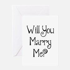 Will You Marry Me? (2) Greeting Card