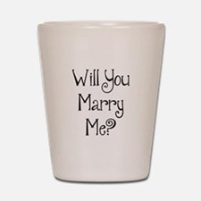 Will You Marry Me? (2) Shot Glass