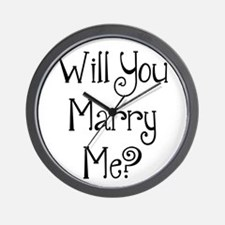 Will You Marry Me? (2) Wall Clock