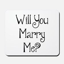 Will You Marry Me? (2) Mousepad