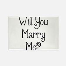 Will You Marry Me? (2) Rectangle Magnet