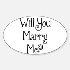 Will You Marry Me? (2) Decal