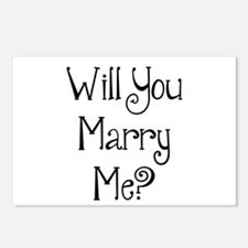 Will You Marry Me? (2) Postcards (Package of 8)