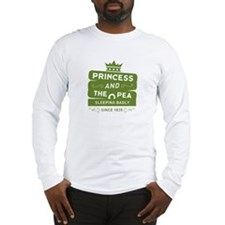 Princess & the Pea Since 1835 Long Sleeve T-Shirt