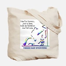 Three Day Eventing Tote Bag