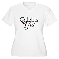 Caleb Girl Plus Size T-Shirt