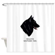 Belgian Shepherd Dog Shower Curtain