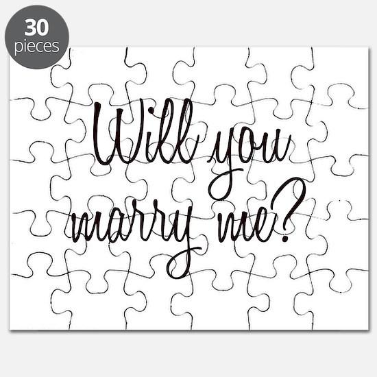 Marry Me Puzzle