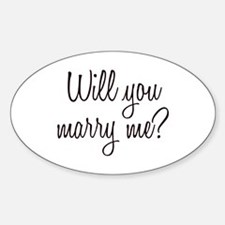 Marry Me Decal