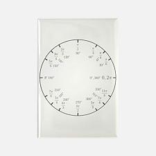 Trigonometry v2 (Rad/Deg) Rectangle Magnet