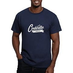 Cinderella Since 1697 Men's Fitted T-Shirt (dark)