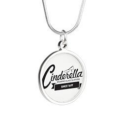 Cinderella Since 1697 Silver Round Necklace