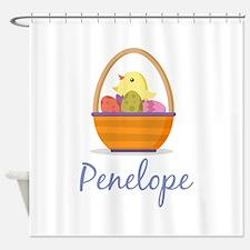 Easter Basket Penelope Shower Curtain