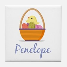 Easter Basket Penelope Tile Coaster