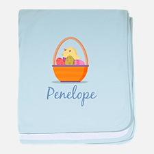 Easter Basket Penelope baby blanket
