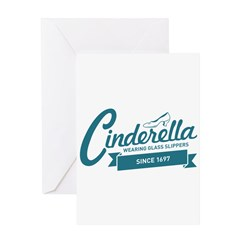 Cinderella Since 1697 Greeting Card