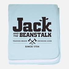 Jack & the Beanstalk Since 1734 baby blanket