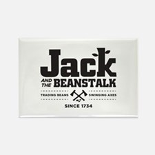 Jack & the Beanstalk Since 1734 Rectangle Magnet