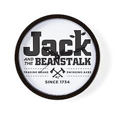 Jack & the Beanstalk Since 1734 Wall Clock