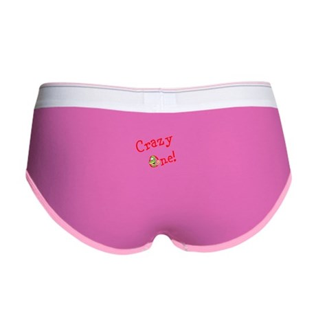 Crazy One logo Women's Boy Brief