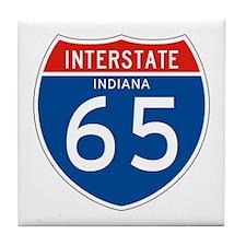 Interstate 65 - IN Tile Coaster