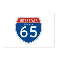 Interstate 65 - IN Postcards (Package of 8)