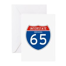 Interstate 65 - IN Greeting Cards (Pk of 10)