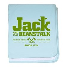 Jack & the Beanstalk Since 1734 baby blanket
